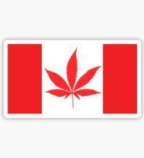 Oh, Cannabis Sticker