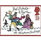 Dickens christmas stamp by GSunrise