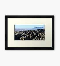 Hide and seek, Spain Framed Print
