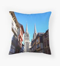 cathedral in Quimper Coussin
