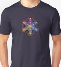 Metatron's Cube Merkabah Unisex T-Shirt