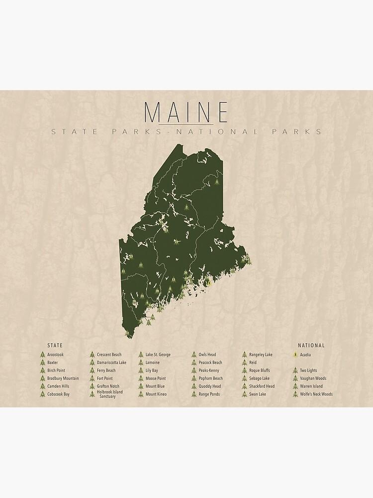 Maine Parks by FinlayMcNevin