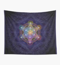 Metatron's Cube Merkabah Wall Tapestry