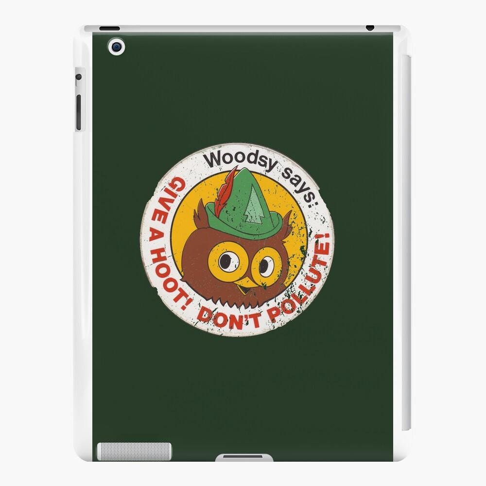 Woodsy Owl 2 Vinilos y fundas para iPad