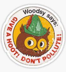 Woodsy Owl 2 Sticker