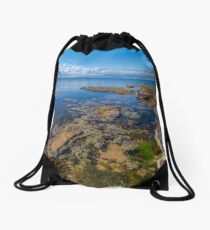 Watkins Bay, Beaumaris Drawstring Bag