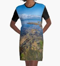 Watkins Bay, Beaumaris Graphic T-Shirt Dress