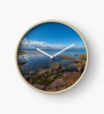 Beaumaris Bay Rocky Shore Clock