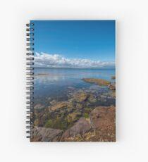 Beaumaris Bay Rocky Shore Spiral Notebook