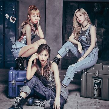 """TWICE - 1st ARENA TOUR 18' """"BDZ"""" unit (Dahyun - Chaeyoung - Tzuyu) by Red-One48"""