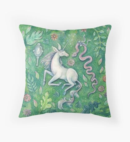 Unicorn Magic Throw Pillow