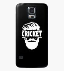 Cricket Batsman - Cricket Picture - Cricket Ball - Father Cricket Gift - Cricket Teacher - Cricket Print - Cricket Dad Gift - Cricket Poster Case/Skin for Samsung Galaxy