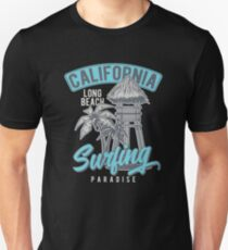 California Surfing Paradise Unisex T-Shirt
