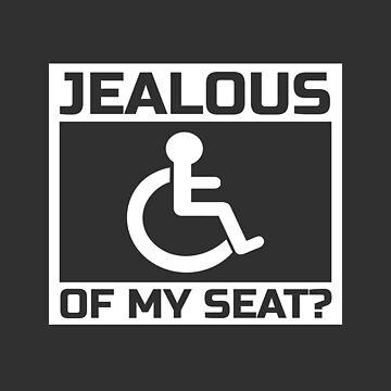 Wheelchair Jokes Disability Jokes Statement by Team150Designz