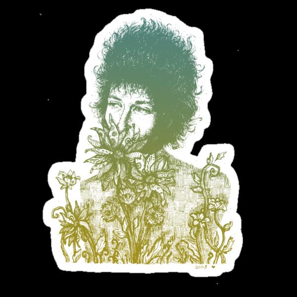 flowerfacezimmerman by Brett Manning