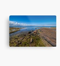 Beaumaris Coast Metal Print