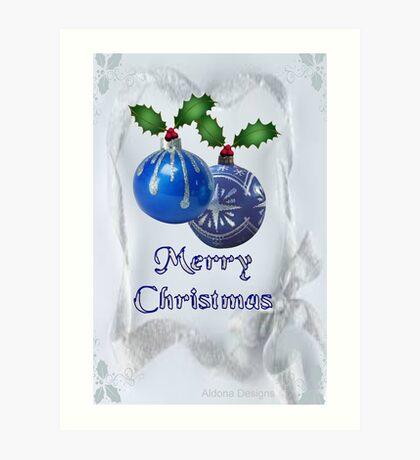 Christmas Ornaments (20038  Views) Art Print