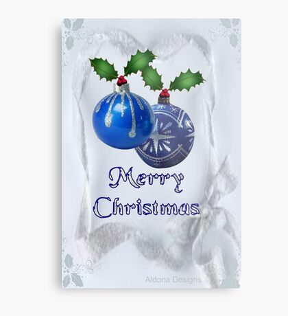 Christmas Ornaments (20038  Views) Metal Print
