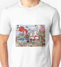 The Pegasus in Candy Heaven Unisex T-Shirt