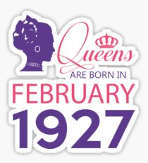 It's My Birthday 91. Made In February 1927. 1927 Gift Ideas. Sticker