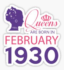 It's My Birthday 88. Made In February 1930. 1930 Gift Ideas. Sticker
