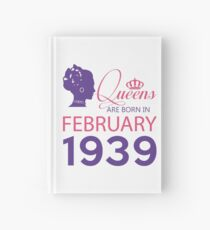 It's My Birthday 79. Made In February 1939. 1939 Gift Ideas. Hardcover Journal