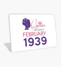 It's My Birthday 79. Made In February 1939. 1939 Gift Ideas. Laptop Skin