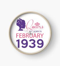 It's My Birthday 79. Made In February 1939. 1939 Gift Ideas. Clock
