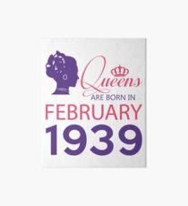 It's My Birthday 79. Made In February 1939. 1939 Gift Ideas. Art Board