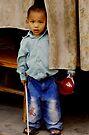 Nepali boy by Betsy  Seeton