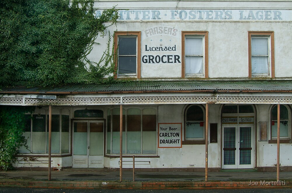 Fraser's Licensed Grocer by Joe Mortelliti