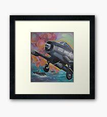Fighter Plane Framed Print