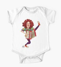 Alfred (Weird Al) Yankovic and Harvey the Wonder Hamster One Piece - Short Sleeve