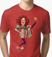 Alfred (Weird Al) Yankovic and Harvey the Wonder Hamster Tri-blend T-Shirt
