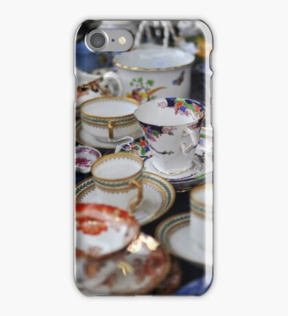 Time for a cuppa iPhone Case/Skin