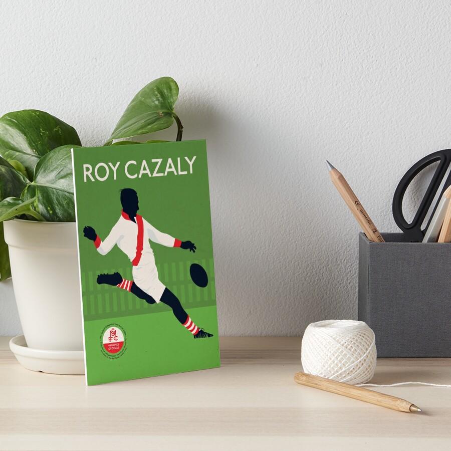 Roy Cazaly - Südmelbourne Galeriedruck