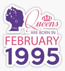 It's My Birthday 23. Made In February 1995. 1995 Gift Ideas. Sticker
