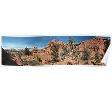 Shakespeare Arch- Kodachrome State Park, Utah Poster