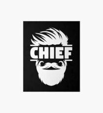 Chief Bridesmaid - Us Navy Chief - Kc Chiefs Shirt - Master Chief Mug - Chief Petty Officer - Chief Illiniwek - Senior Chief - Master Chief Art Board