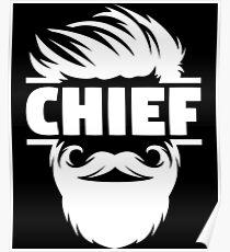 Chief Bridesmaid - Us Navy Chief - Kc Chiefs Shirt - Master Chief Mug - Chief Petty Officer - Chief Illiniwek - Senior Chief - Master Chief Poster