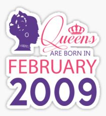 It's My Birthday 9. Made In February 2009. 2009 Gift Ideas. Sticker