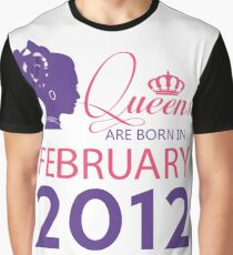 It's My Birthday 6. Made In February 2012. 2012 Gift Ideas. Graphic T-Shirt