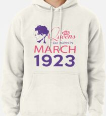 It's My Birthday 95. Made In March 1923. 1923 Gift Ideas. Pullover Hoodie