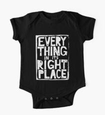 Everything in Its Right Place - Radiohead Kids Clothes