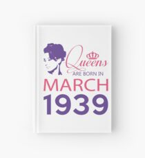 It's My Birthday 79. Made In March 1939. 1939 Gift Ideas. Hardcover Journal