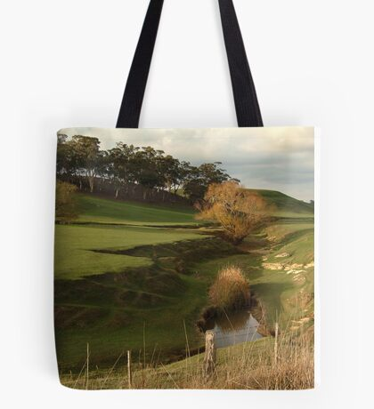 Green Pasture,Daylesford District Tote Bag