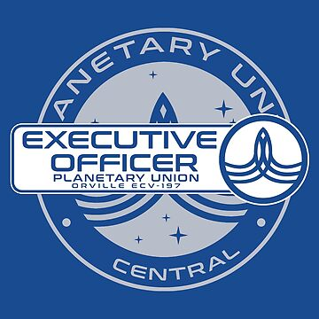 Planetary Union Executive Officer - Inspired by The Orville by WonkyRobot