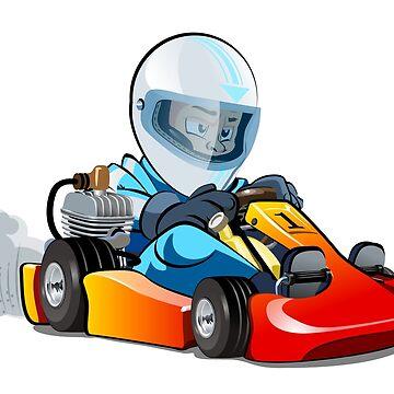 Cartoon kart racer by Mechanick
