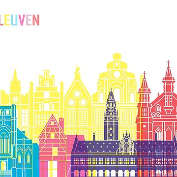 Leuven skyline pop  by paulrommer