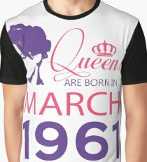 It's My Birthday 57. Made In March 1961. 1961 Gift Ideas. Graphic T-Shirt
